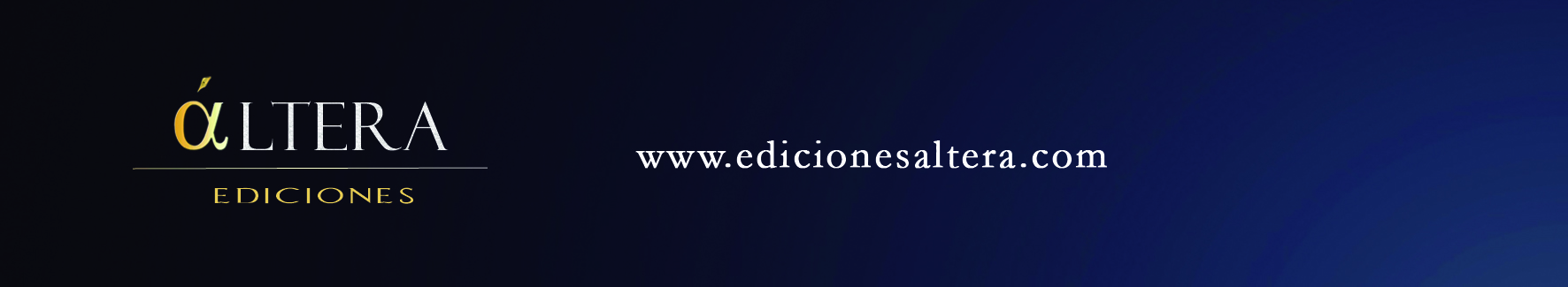 Banner inferior Premios de Novela Histórica. Ediciones Áltera