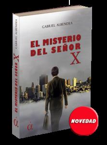 Portada del libro El misterio del señor X. Editorial Áltera