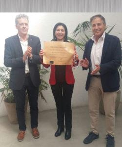 Entrega del Premio Hispania 2017. Editoriales españolas