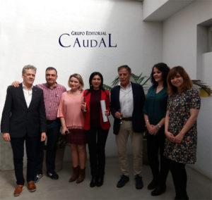 Entrega del IV Premio de Hispania, momento. Editoriales esopañolas