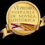 Sello Premio Hispania de Novela Histórica. Ediciones Áltera