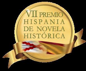 Sello VII Premio Hispania de Novela Histórica