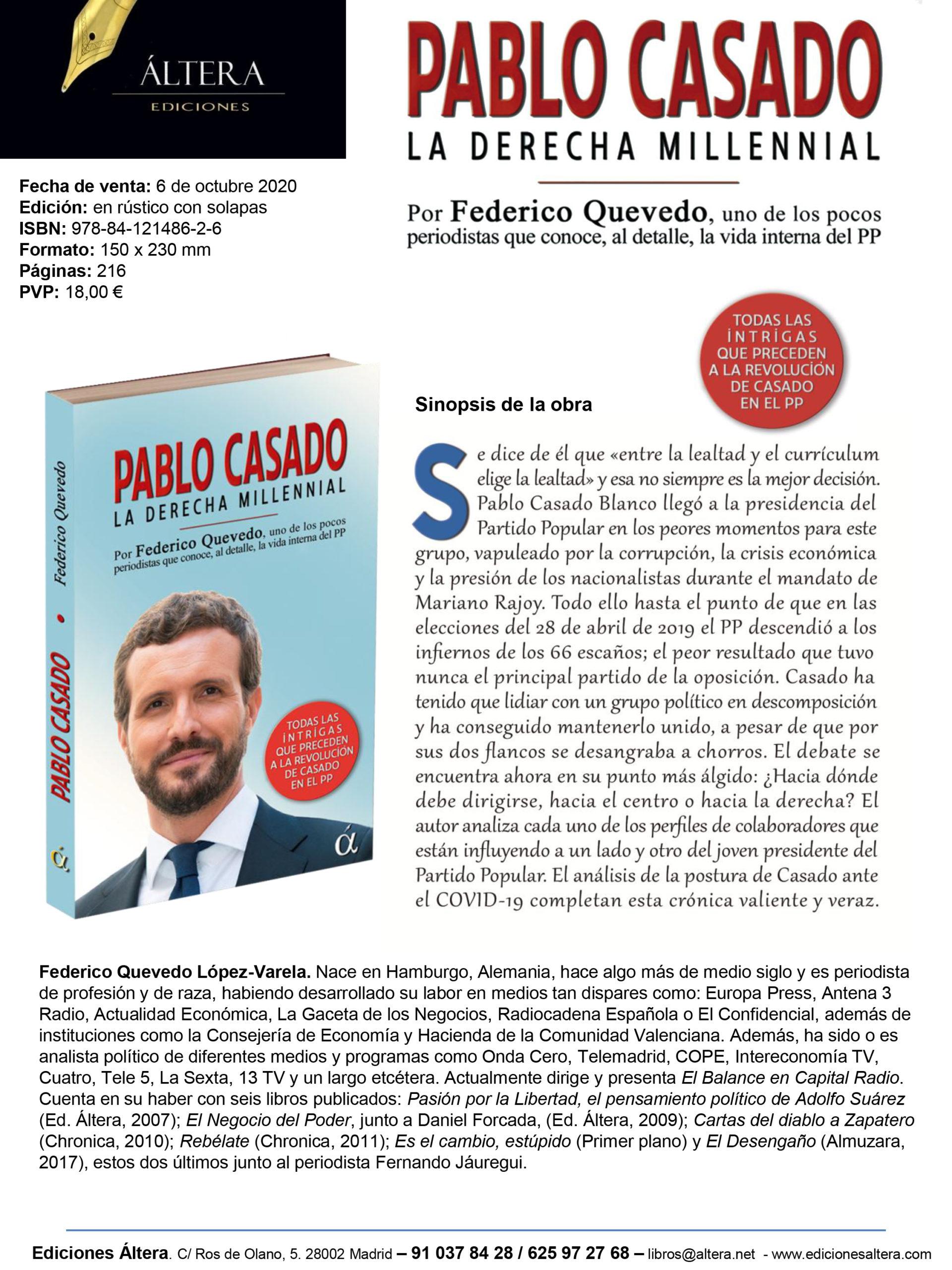 Libro Pablo Casado